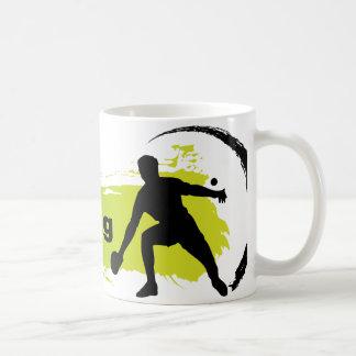 Einzigartiges Klingeln Pong Kaffeetasse
