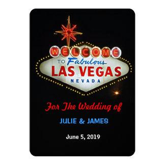 Einzigartiges Las Vegas, das formale Einladung