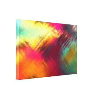 """Einzigartiges Solarium Glas-ICh 24X16X1.5"""", Leinwanddruck"""