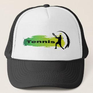 Einzigartiges Tennis (Mann) Truckerkappe