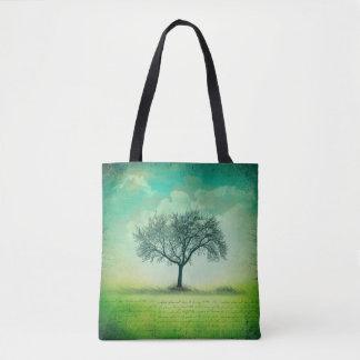Einzige Baum-und Himmel-Taschen-Tasche Tasche