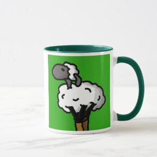Einzige Schafe säubern Tasse