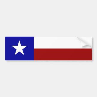 Einzige Stern-Flagge Autoaufkleber
