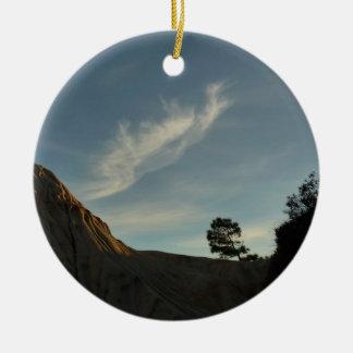 Einzige Torrey Rundes Keramik Ornament