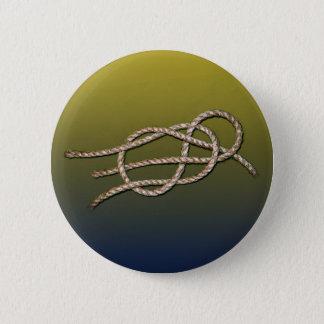 Einziger Knoten - runder Knopf Runder Button 5,1 Cm