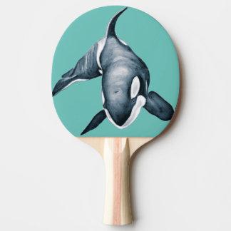 Einziger Schwertwal Tischtennis Schläger