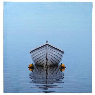 Einziges Boot Serviette
