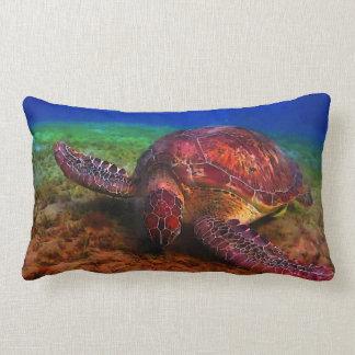 Einziges Meeresschildkröte-Kissen Lendenkissen
