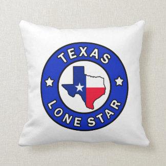 Einziges Sternkissen Texas Kissen