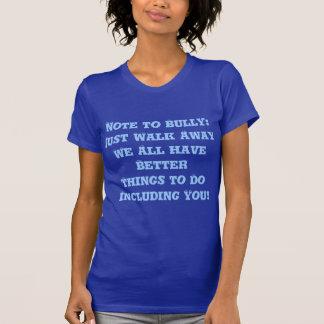 Einzuschüchtern Anmerkung: Gerade Weg-weg - T-Shirt