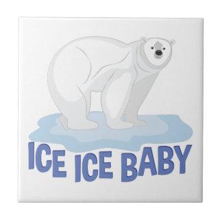 Eis-Baby Keramikfliese