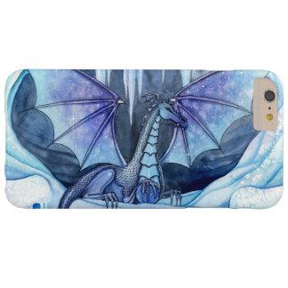 Eis-Drache-mystische Fantasie-Kunst-Grafik-Drachen Barely There iPhone 6 Plus Hülle