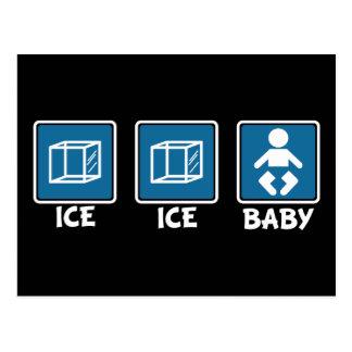 Eis-Eis-Baby Postkarte