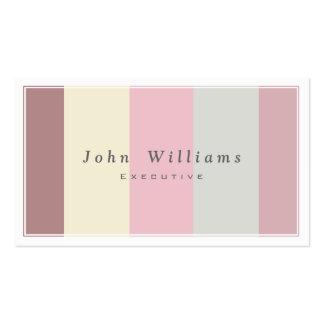 Eis Geborene Creme Warme sanfte Farben elegant Visitenkarten