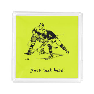 Eis-Hockey Acryl Tablett