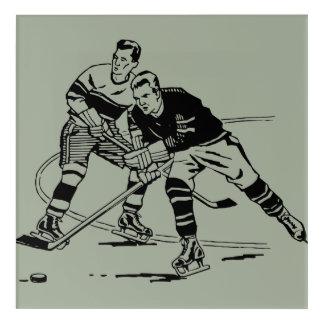 Eis-Hockey Acryldruck
