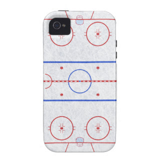 Eis-Hockey-Eisbahn Case-Mate iPhone 4 Hüllen