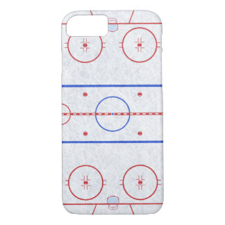 Eis-Hockey-Eisbahn iPhone 7 Hülle