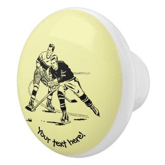 Eis-Hockey Keramikknauf