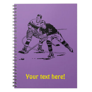 Eis-Hockey Notizblock