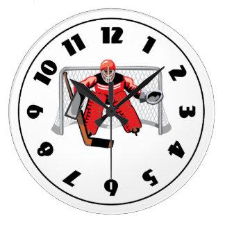 Eis-Hockey-Tormann-Uhr Uhren