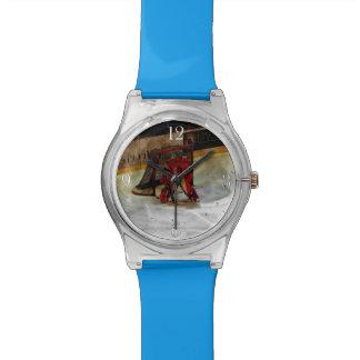 Eis-Hockey-Tormann - Winter-Sport-Reihe Armbanduhr