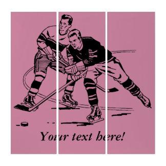 Eis-Hockey Triptychon