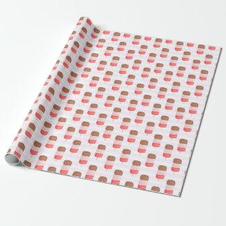 Eis-Lutschbonbon-Muster - Packpapier