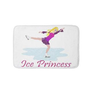 Eis-Prinzessin Figure Skater Badematte