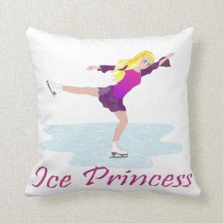 Eis-Prinzessin Figure Skater Kissen