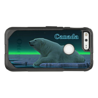 Eis-Rand-Eisbär - Kanada OtterBox Commuter Google Pixel Hülle