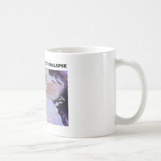 Eis-Regal-Einsturz Larsens B (Bild-Erde) Kaffeetasse