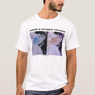 Eis-Regal-Einsturz Larsens B (Bild-Erde) T-Shirt