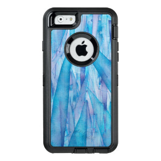 Eis-Scherbe-blauer Aquarell Otterbox Kasten OtterBox iPhone 6/6s Hülle