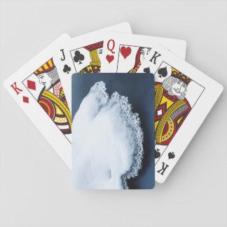 Eis, Schnee und bewegliches Wasser Spielkarten