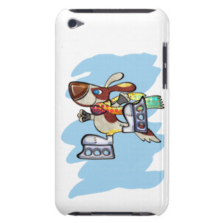 Eis-Skaten-Jagdhund-Hund Case-Mate iPod Touch Hülle
