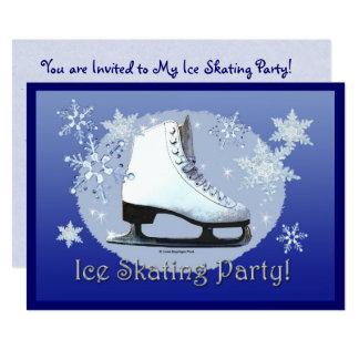 Eis-Skaten-Party! Karte