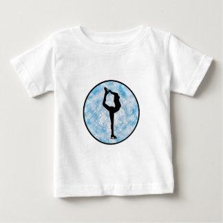 Eis-Skaten-Prinzessin Baby T-shirt