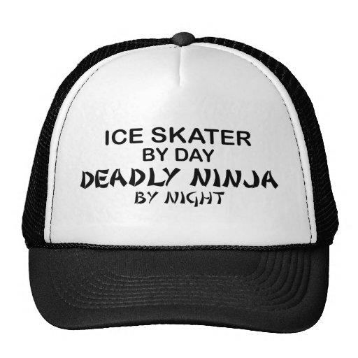 Eis-Skater tödliches Ninja bis zum Nacht Retrokult Cap