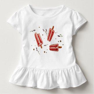 Eis und Blumen Kleinkind T-shirt