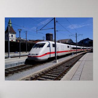 EIS-Zug in Köln Poster