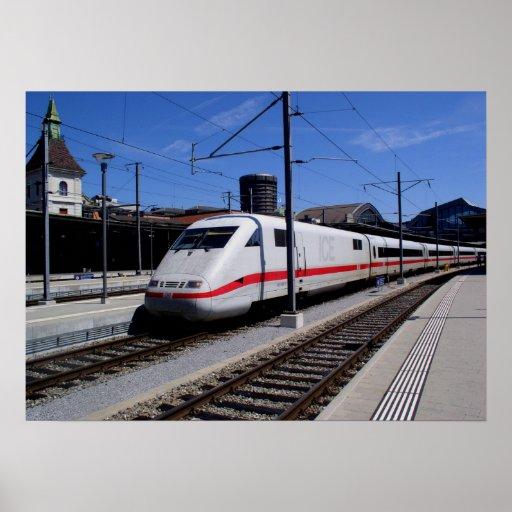 EIS-Zug in Köln Plakate