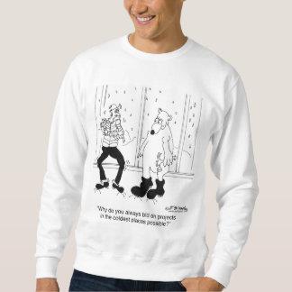 Eisbär-Angebote auf Bau-Jobs Sweatshirt