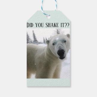 Eisbär-anwesender Umbau Geschenkanhänger