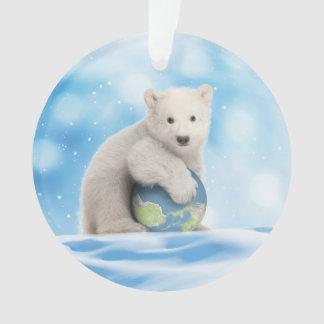 Eisbär-arktische Weltverzierung Ornament