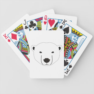 Eisbär Bicycle Spielkarten