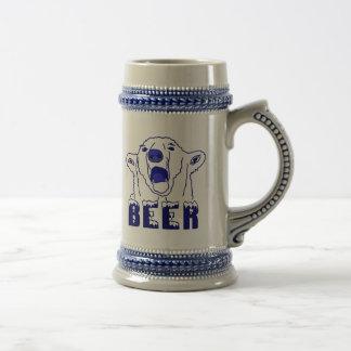 Eisbär Bierglas