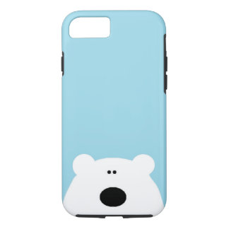 Eisbär-Blau iPhone 8/7 Hülle