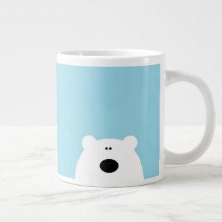 Eisbär-Blau Jumbo-Tasse