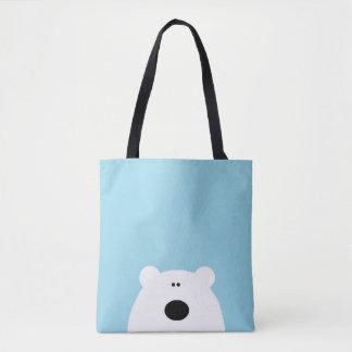 Eisbär-Blau Tasche